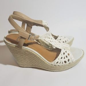 Gianni Bini Wedge Sandals size 10